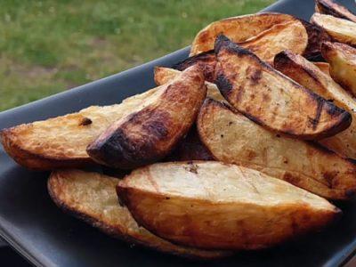 Картошка на гриле с соусом айоли (видео)