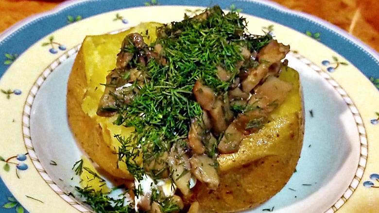 Картошка на гриле (видео)