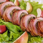 Свиная вырезка в беконе на гриле (видео)