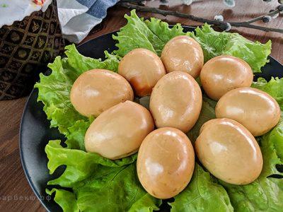 Копченые яйца на гриле (видео)