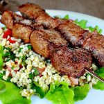 Шашлык из говядины по-ливански на гриле (видео)