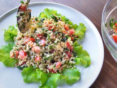 Ливанский салат «Табуле» (видео)