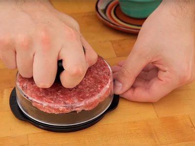 Пресс для бургера или Как сделать бургер правильной толщины